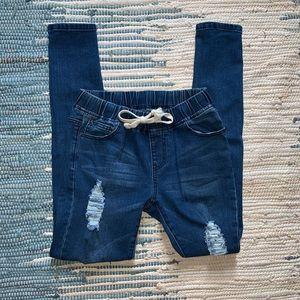Fashion Nova Jeans - Size small/25 fashion nova denim jogger
